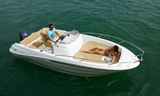 Rent Jeanneau Cap Camarat 6.5 Power Boat In Cogolin
