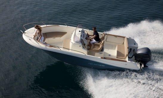 Rent The 8 People Jeanneau Cap Camarat 7.5 Power Boat In Cogolin, France