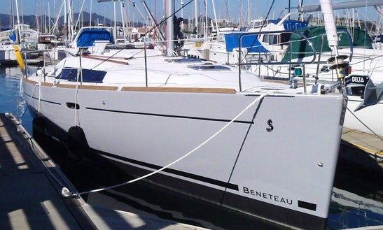 Skippered Charter On Beneteau 37