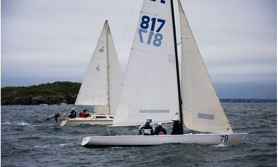 Rent A 27' Soling Daysailer In Boston, Massachusetts