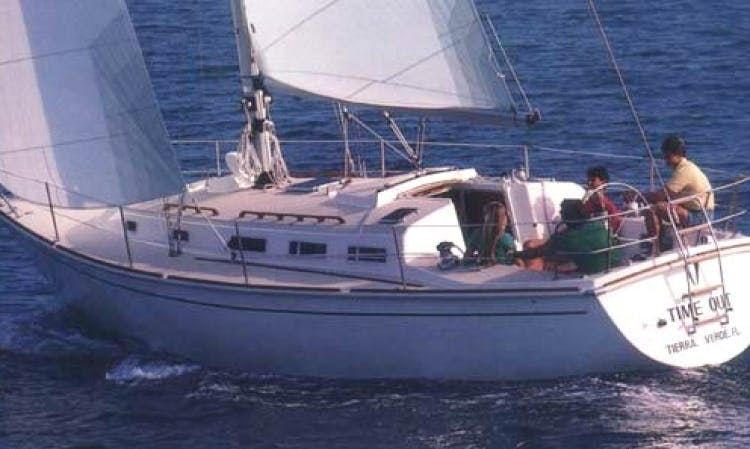 36' Cruising Monohull Rental in Boston, Massachusetts