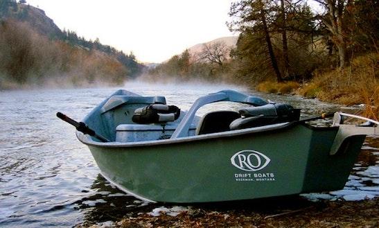 Ro Drift Boat Fishing Guide In Redding, California