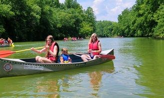 Canoes and Kayaks on Whitewater River