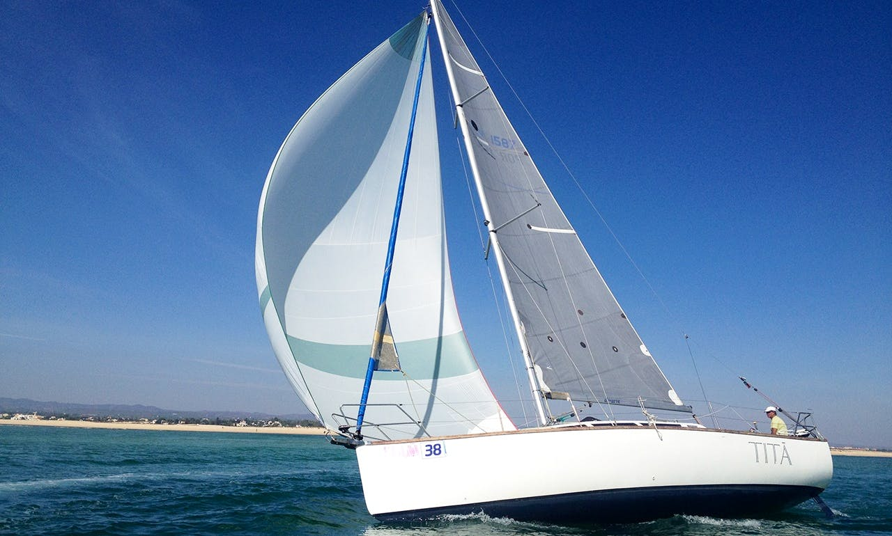 Beach Monohull Rental in Fuseta and Olhão