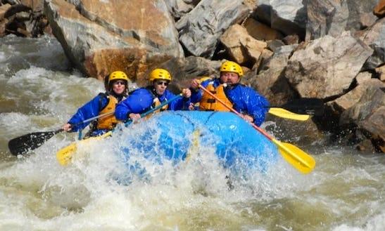 White Water Rafting In Kremmling, Colorado
