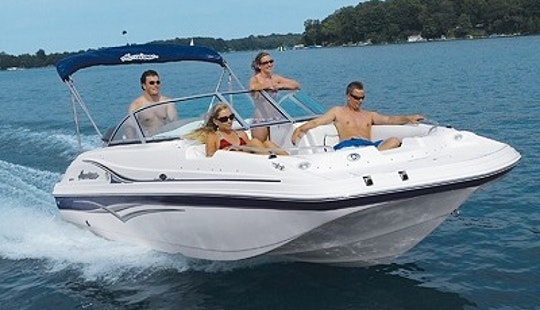 Rent 20' Deck Boat Hurricane In Miami, Florida