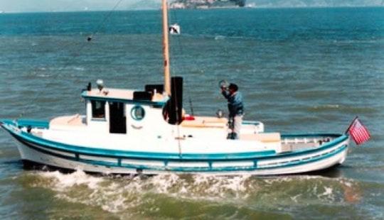 San Francisco Bay Fishing Charter On 32ft