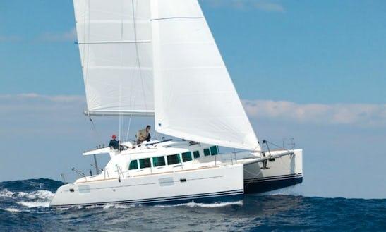 Catamaran Charter In Athens Greece On Lagoon 440