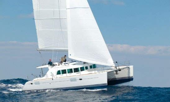 Catamaran Charter In Athens Greece On Lagoon 440