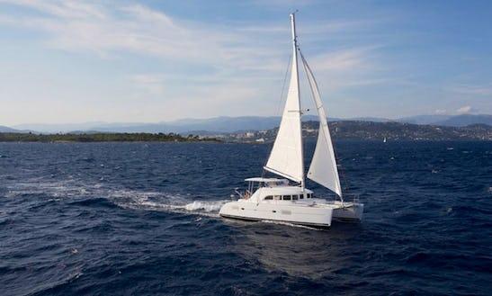 Athens, Greece Catamaran Charter Lagoon 380