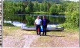 Rent a Linder Canoe in Gunnerud, Sweden