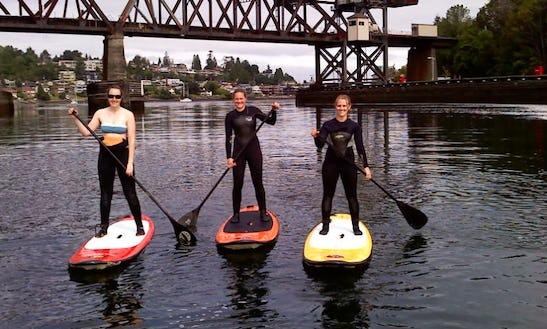 Paddleboard Rentals In Seattle Washington