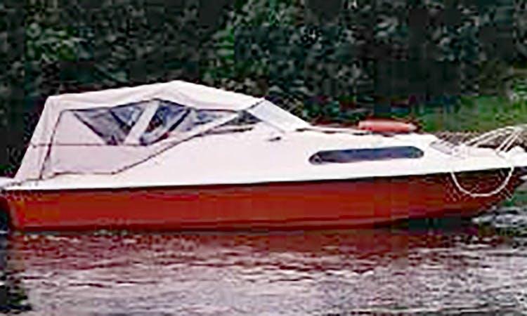 Small day cruiser rental - Upper Thames