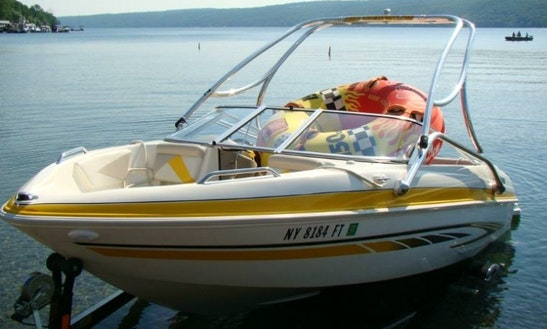 18' Glastron Ski Boat Rental