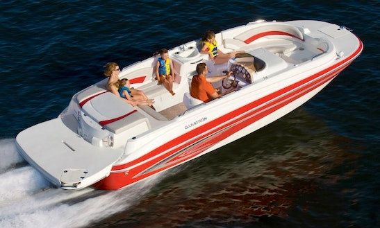 Duo Prop Glastron Deck Boat (i)
