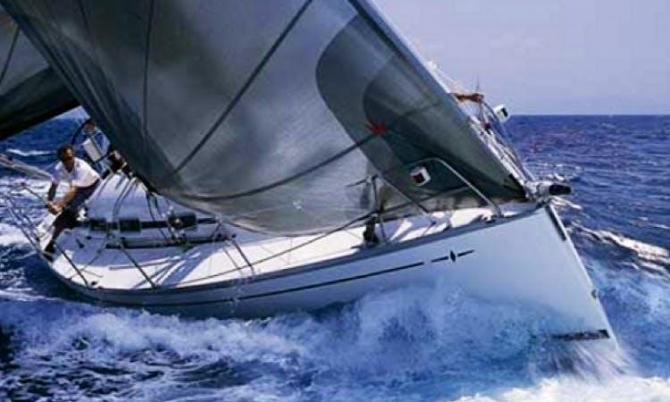 Charter 38' Bavaria Sailboat in Sardinia Italy