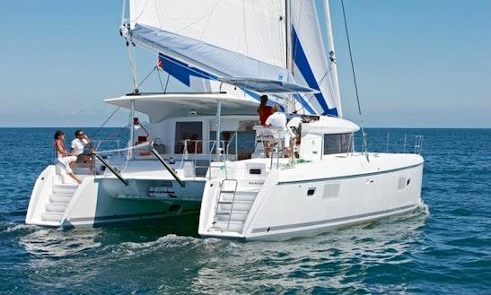 Charter 421 Lagoon Power Catamaran In Sardinia Italy