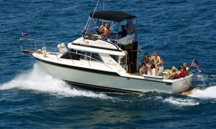 Charter the 6 People Motor Yacht in New Buffalo, Michigan