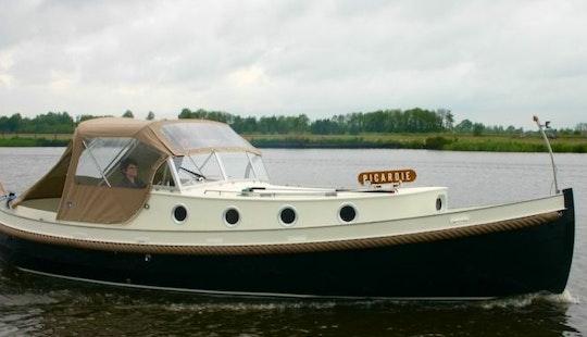 Giessensloep 850 Motor Yacht Rental In Terherne