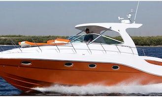 36ft Motor Yacht Charter In Dubai, UAE