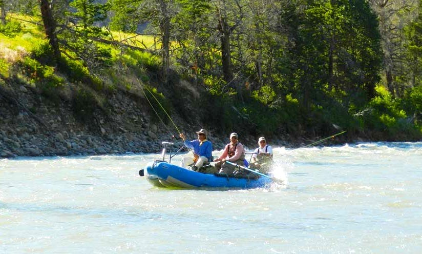 Wyoming Float Fly Fishing Guided Trip