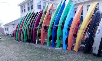 Explore New London, New Hampshire on a Kayak Rental