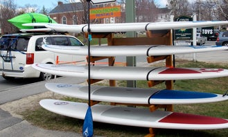 Enjoy a Paddleboard Rental in New London, New Hampshire
