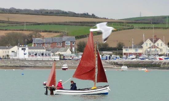 Traditional Style Ford's Lugger Rental in Appledore, England
