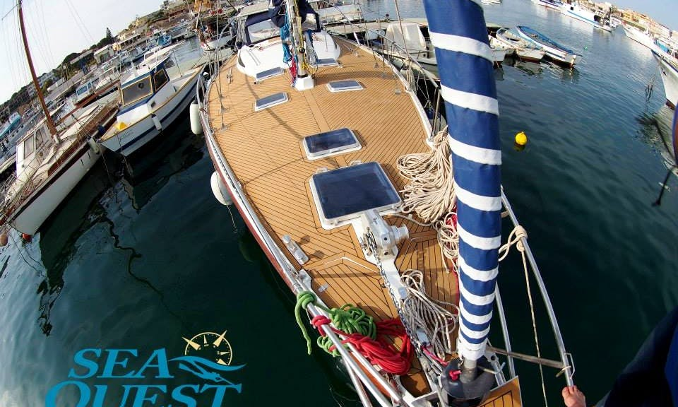 Cruising Monohull Rental & Freediving Lessons in Tabarka, Tunisia