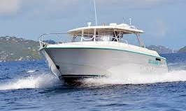 55' Motor Yacht Charter for Up to 30 People in St Thomas, U.S. Virgin Islands