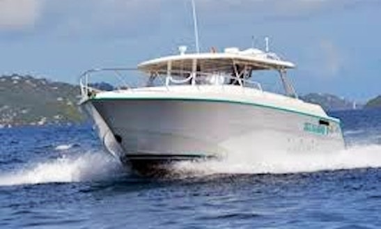 Motor Yacht Rental In St Thomas