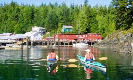 Kayak Rentals in Telegraph Cove, British Columbia