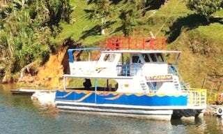 Charter 33' Passenger Boat In El Peñol, Colombia for up to 80 people