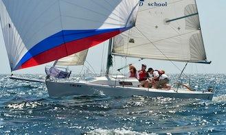 Enjoy a J/80 Performance Sailing Sloop in San Diego, California