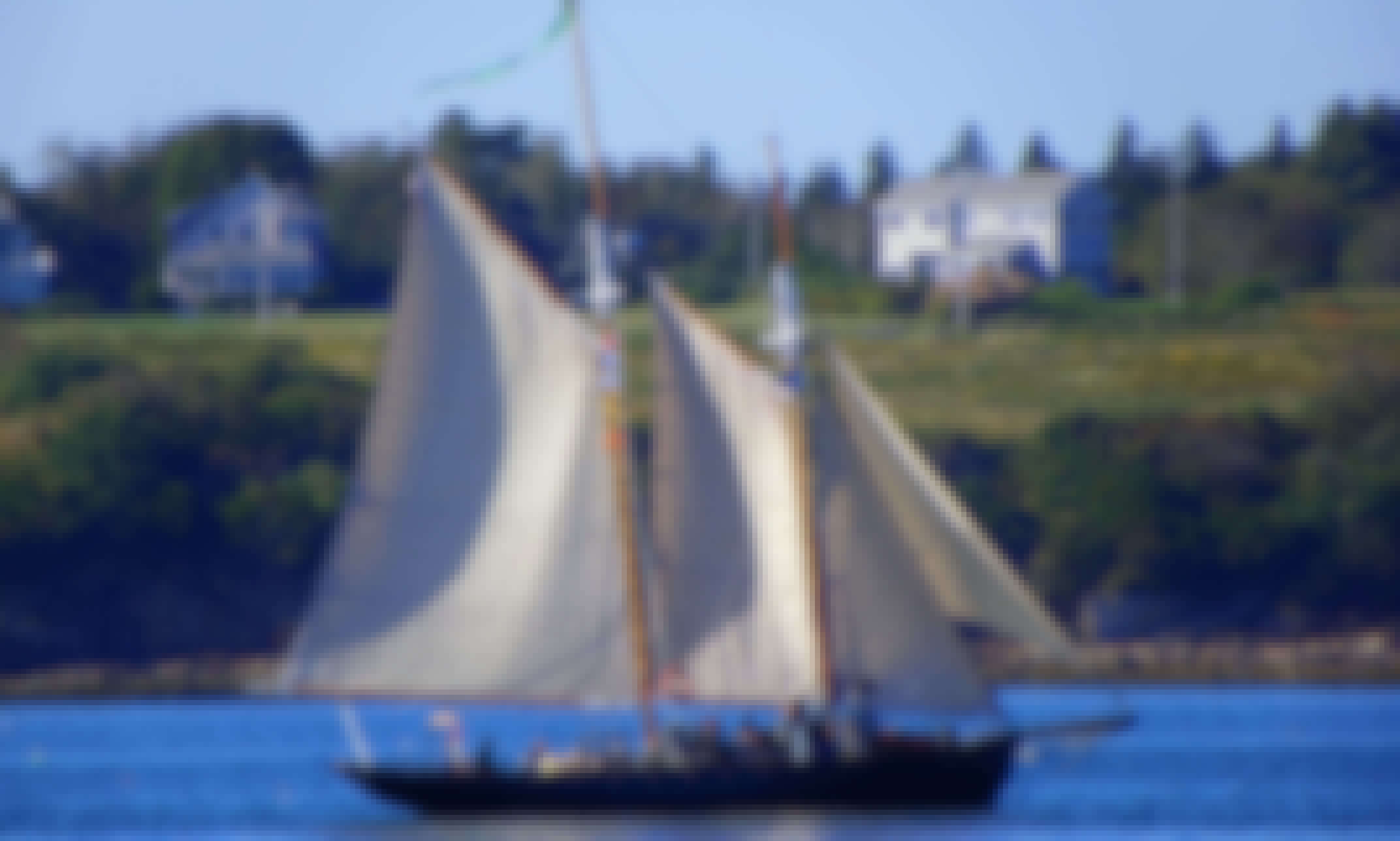 70' Sailing Schooner - Private Charter with USCG Licensed Captain in Harpswell, Maine