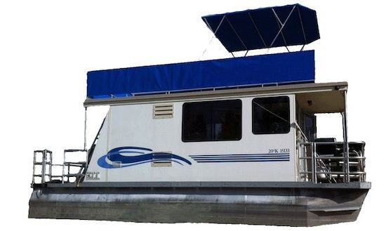 Four Person Houseboat Rental In Cranbrook, Bc