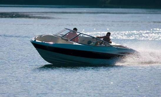 Lake Koocanusa Sport Bowrider Rental