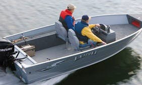 16' Bass Boat Rental in Curtis, MI