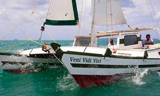 Tiki 30 Cruising Catamaran Charter In Ko Tao