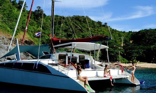 Grainger 40 Crewed Catamaran Charter In Ko Tao