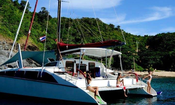 Grainger 40 Crewed Catamaran Charter in Ko Tao