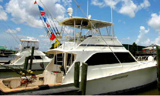 Fishing Charter On 55' Sportsfishing Yacht In Venice, Louisiana