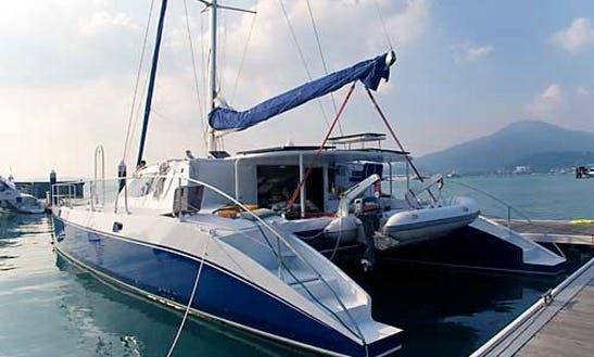 51' Custom Catamaran Crewed Charter In Ko Tao