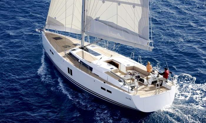 Skippered Charter Hanse 545 Sailing Yacht in Ko Tao