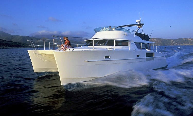 Fountaine Pajot Cumberland 44 Power Catamaran Charter in Ko Tao
