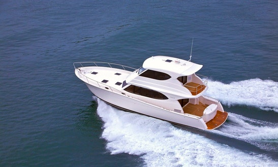 Crewed Charter Maritimo 48 Motor Yacht In Ko Tao