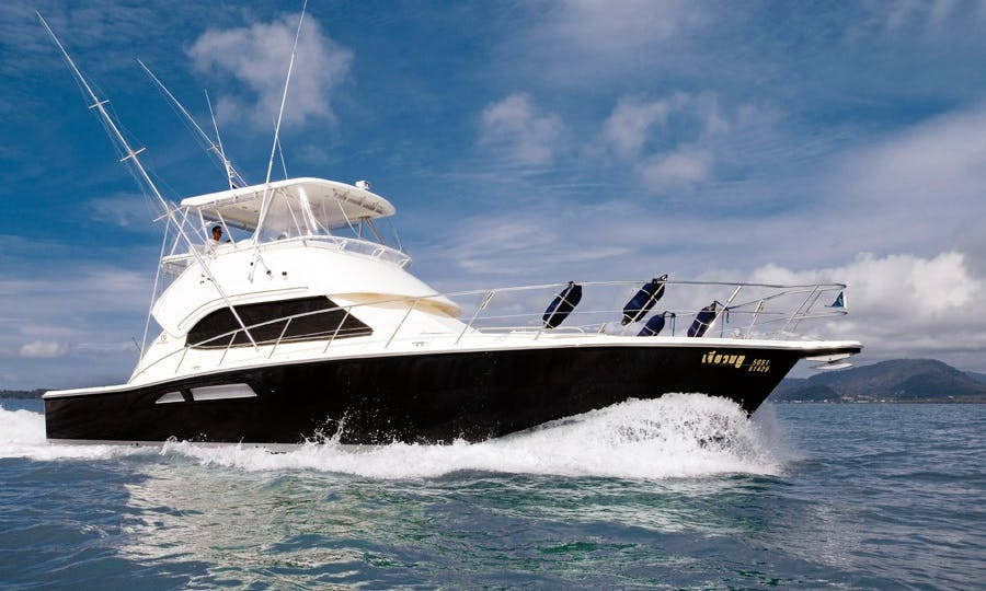 Riviera 47 Motor Yacht Charter and Fishing in Ko Tao