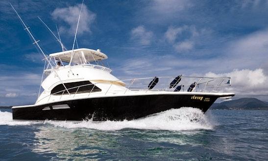 Riviera 47 Motor Yacht Charter And Fishing In Ko Tao