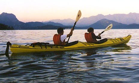 Reserve a Tandem Kayak in Gibsons, Canada