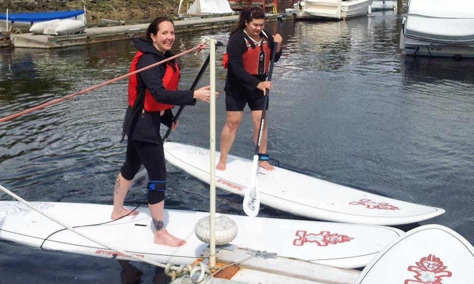 Stand Up Paddleboard Rental with Lesson in Gibsons, British Columbia